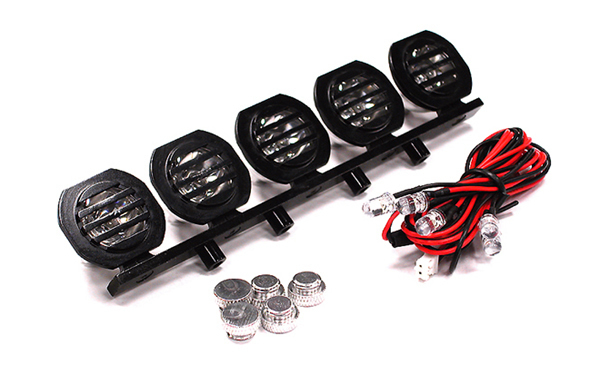 Комплект подсветки Billet Machined Alloy Roof Top Sport LED (5) Light Set - C23540BLACK